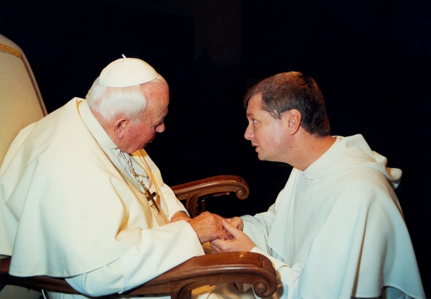 Bishop Anthony Meets JPII
