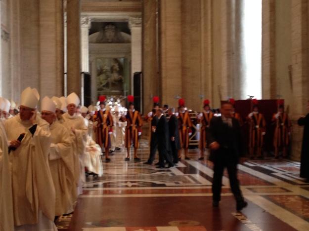 Bishops await lineup