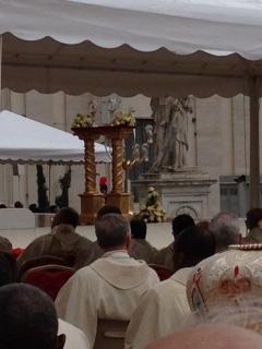 In the company of two new saints: Pope John & Pope John Paul II